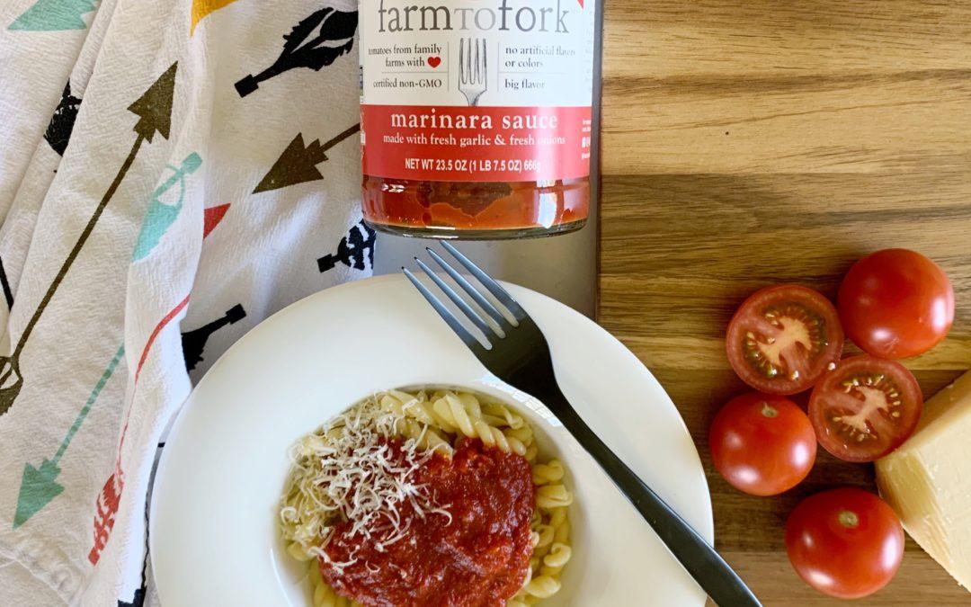 Farm To Fork™️ Pasta Sauce, Now at Walmart!